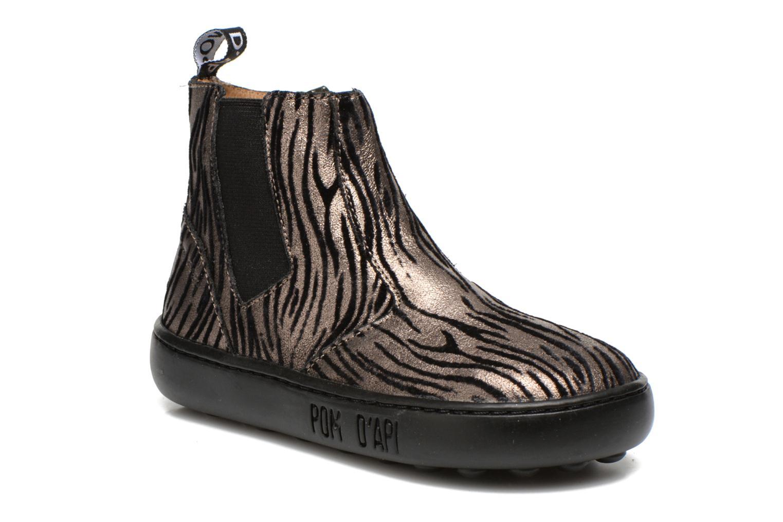 Bottines et boots Pom d Api Walk jodpur basic fixell Noir vue détail/paire