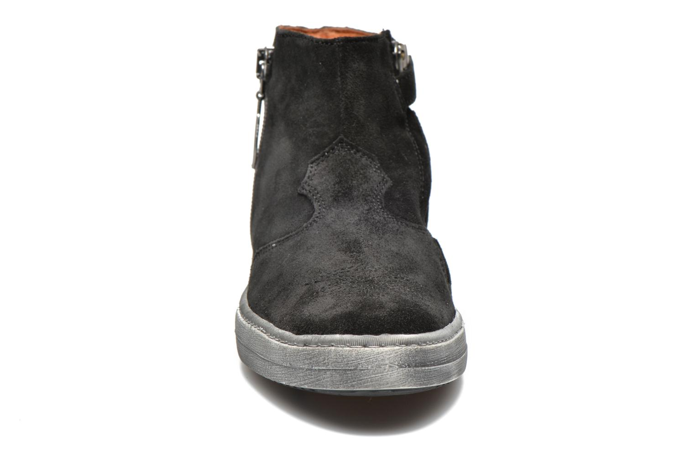 Bottines et boots Shwik ADDICT ZIP WEST Noir vue portées chaussures
