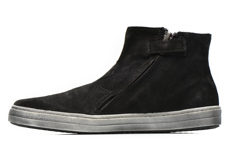 Bottines et boots Shwik ADDICT ZIP WEST Noir vue face