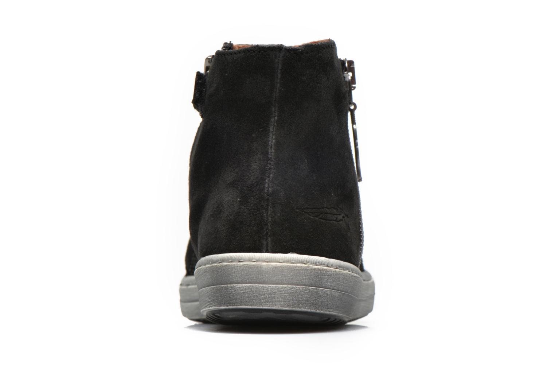Bottines et boots Shwik ADDICT ZIP WEST Noir vue droite