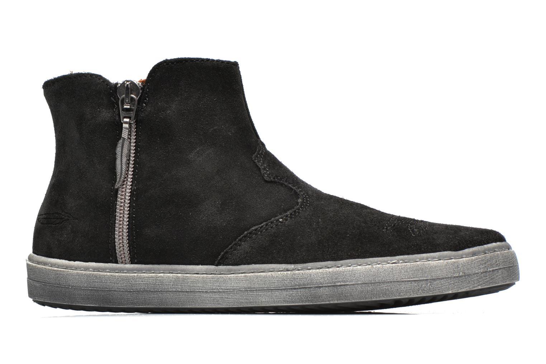 Bottines et boots Shwik ADDICT ZIP WEST Noir vue derrière