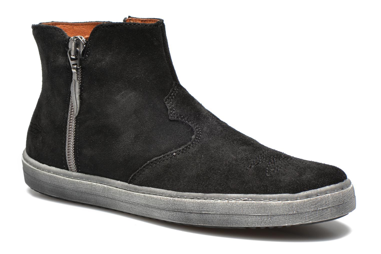 Bottines et boots Shwik ADDICT ZIP WEST Noir vue détail/paire