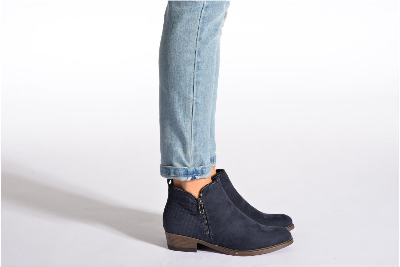 Bottines et boots I Love Shoes Thazip Size + Noir vue bas / vue portée sac