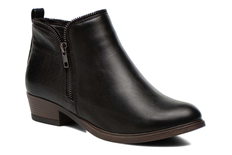 Bottines et boots I Love Shoes Thazip Size + Noir vue détail/paire