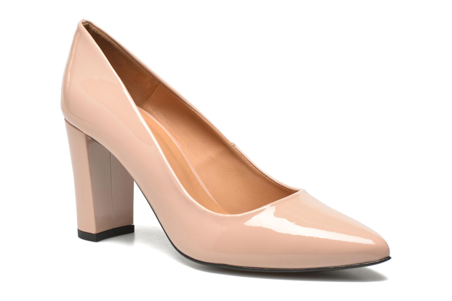 Pumps Made by SARENZA Glossy Cindy #16 Beige voorkant