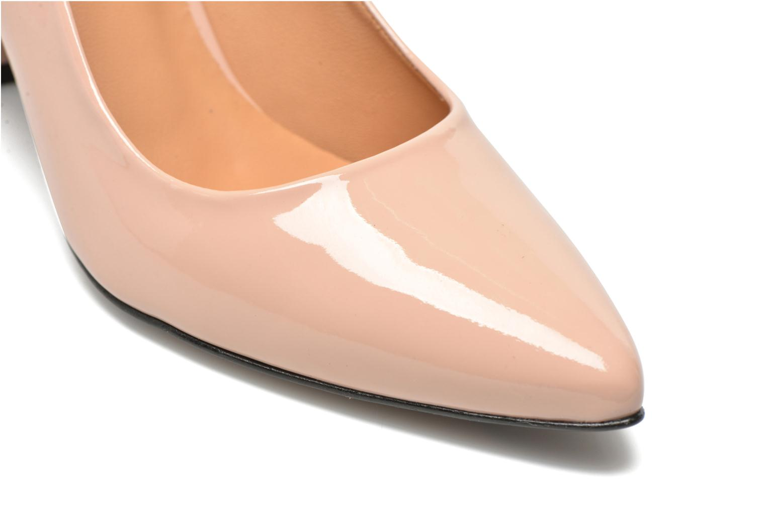 Pumps Made by SARENZA Glossy Cindy #16 Beige achterkant
