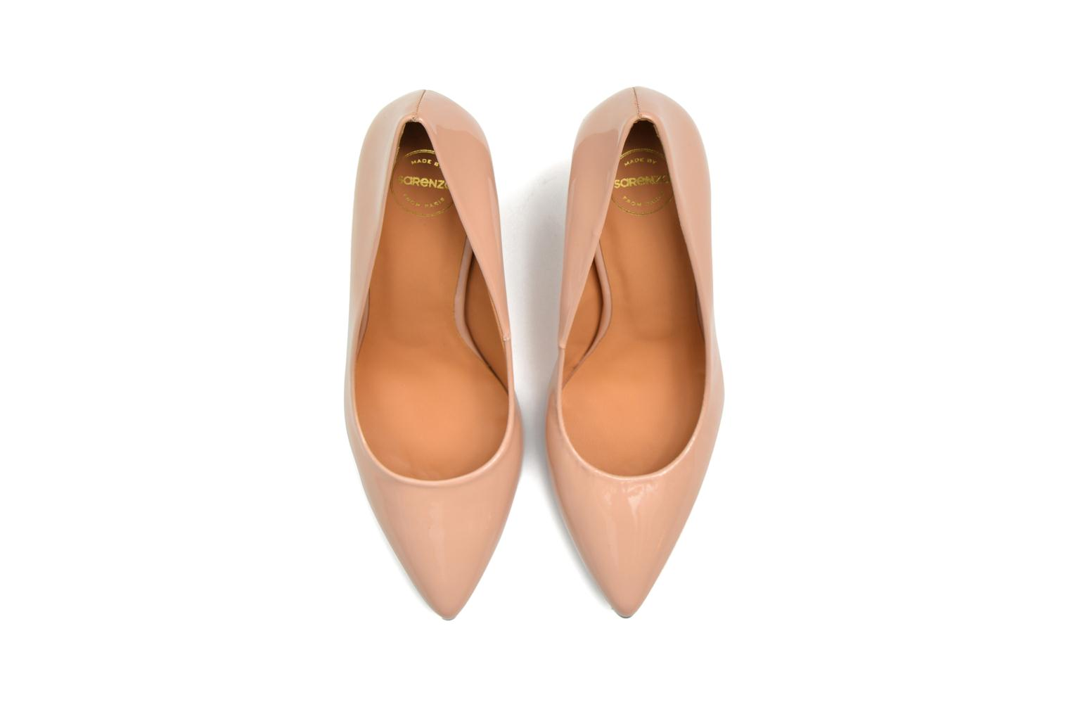 Pumps Made by SARENZA Glossy Cindy #16 Beige boven