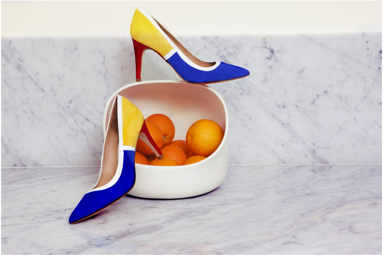 Escarpins Made by SARENZA Notting Heels #1 Multicolore vue 3/4
