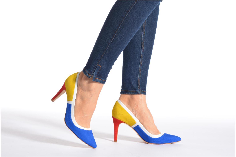 Escarpins Made by SARENZA Notting Heels #1 Multicolore vue bas / vue portée sac