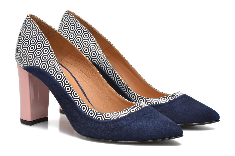 Escarpins Made by SARENZA Notting Heels #3 Multicolore vue derrière