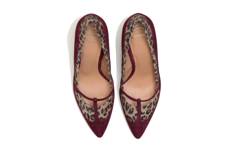 Escarpins Made by SARENZA Flore Thirties #7 Bordeaux vue portées chaussures