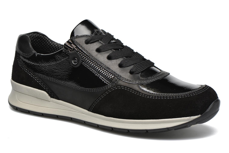 Sneakers Ara Helsinki Zwart detail