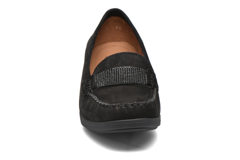 Mocassins Ara New-Haven Noir vue portées chaussures