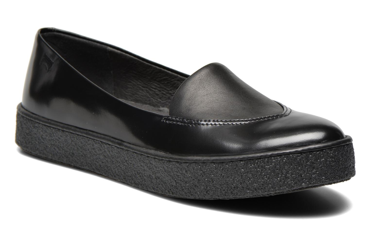 Loafers Camper Ambar K200006 Black detailed view/ Pair view