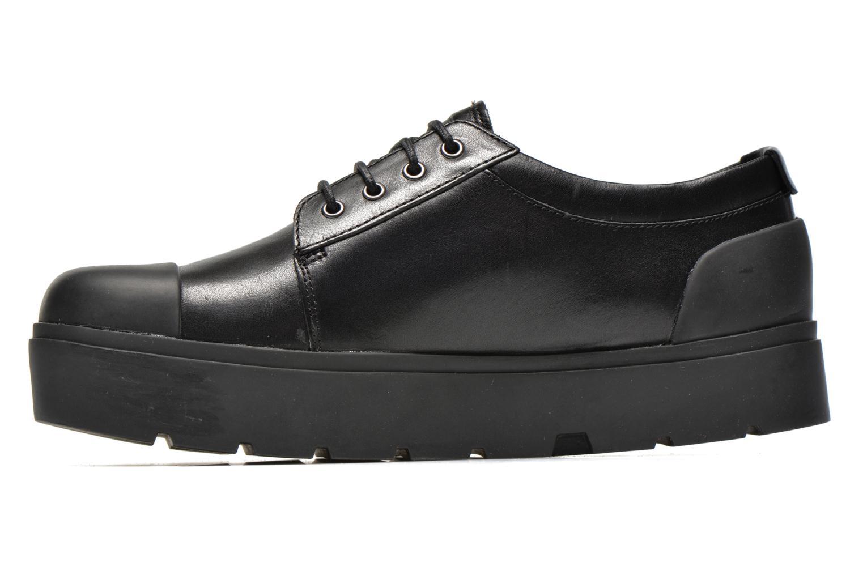 Sneaker Camper Vintar 21993 schwarz ansicht von vorne
