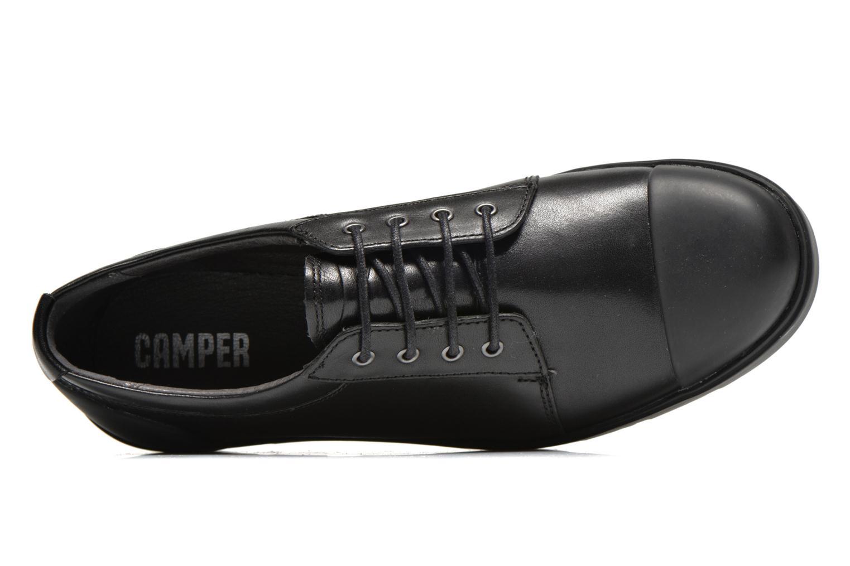 Sneaker Camper Vintar 21993 schwarz ansicht von links