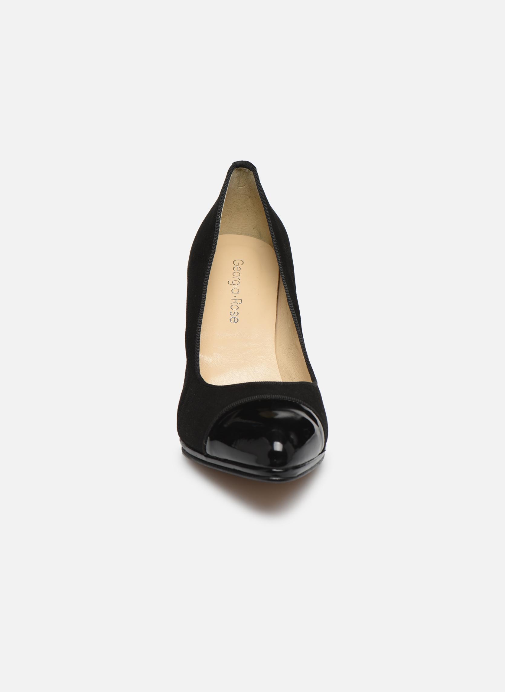 Escarpins Georgia Rose Savabou Noir vue portées chaussures