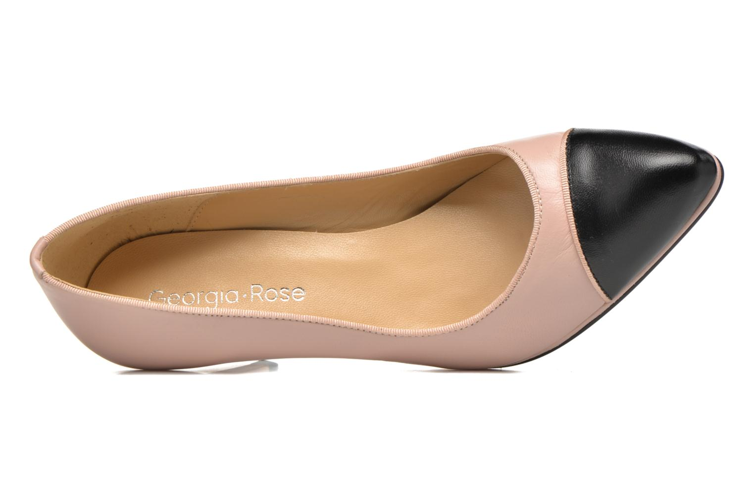 High heels Georgia Rose Savabou Beige view from the left