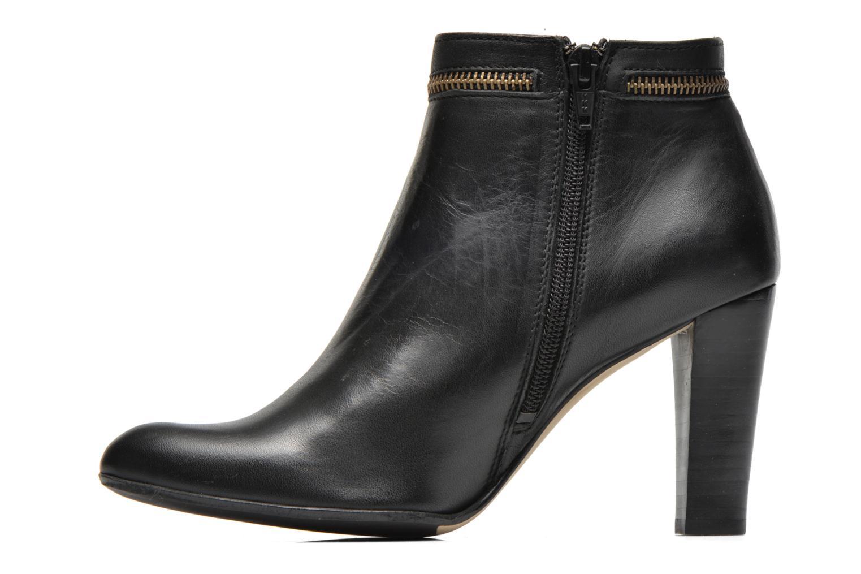 Bottines et boots Georgia Rose Semikat Noir vue face