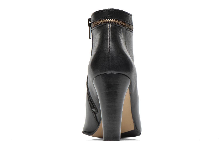 Bottines et boots Georgia Rose Semikat Noir vue droite