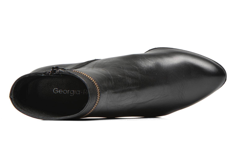 Bottines et boots Georgia Rose Semikat Noir vue gauche