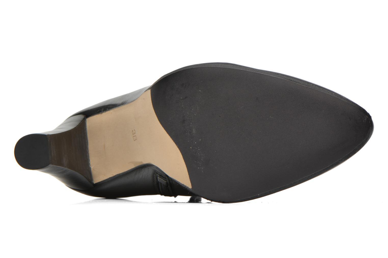 Bottines et boots Georgia Rose Semikat Noir vue haut