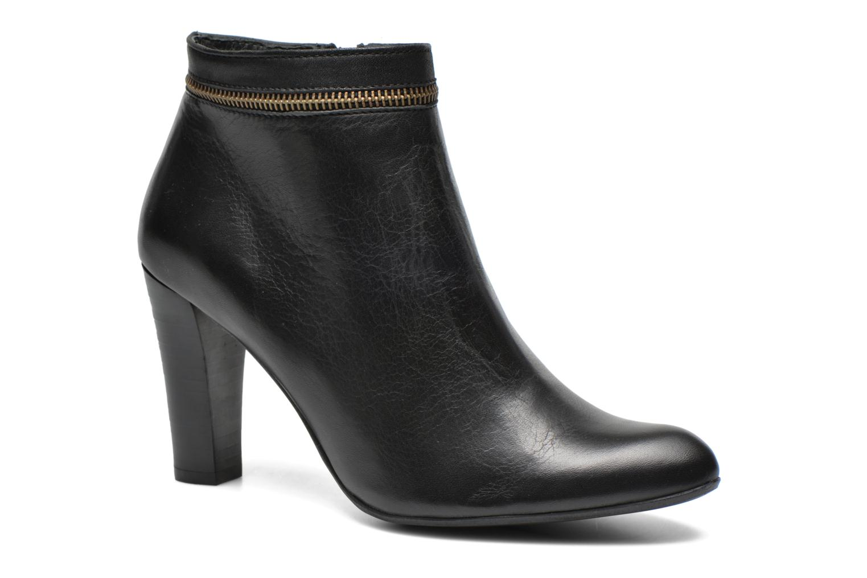 Bottines et boots Georgia Rose Semikat Noir vue détail/paire