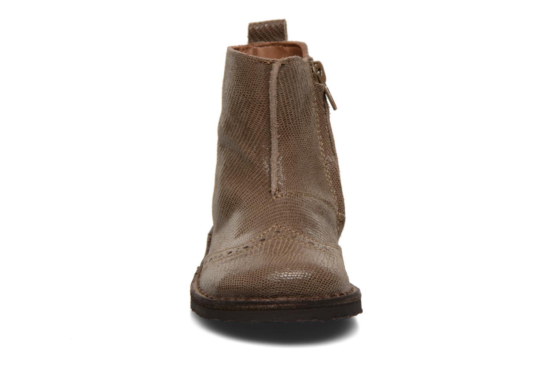 Bottines et boots Bisgaard Sagitta Marron vue portées chaussures