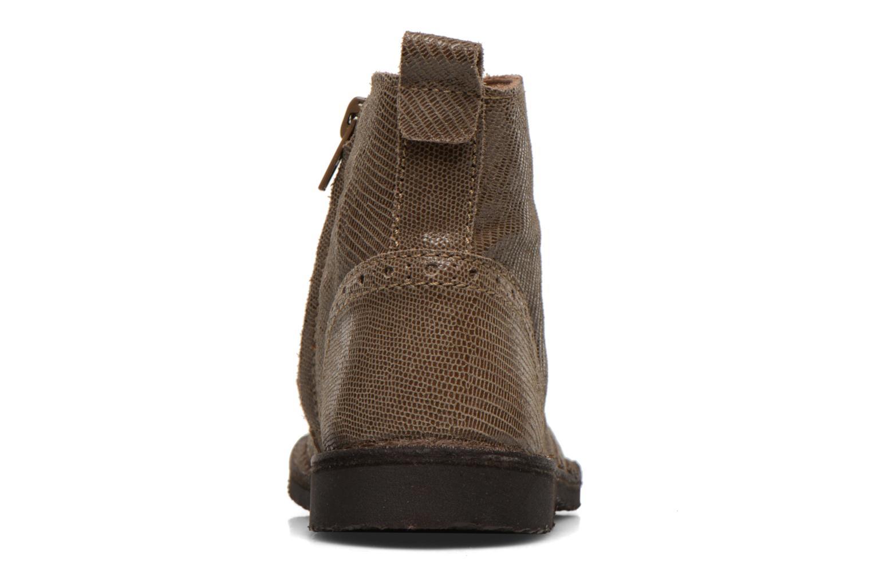 Bottines et boots Bisgaard Sagitta Marron vue droite