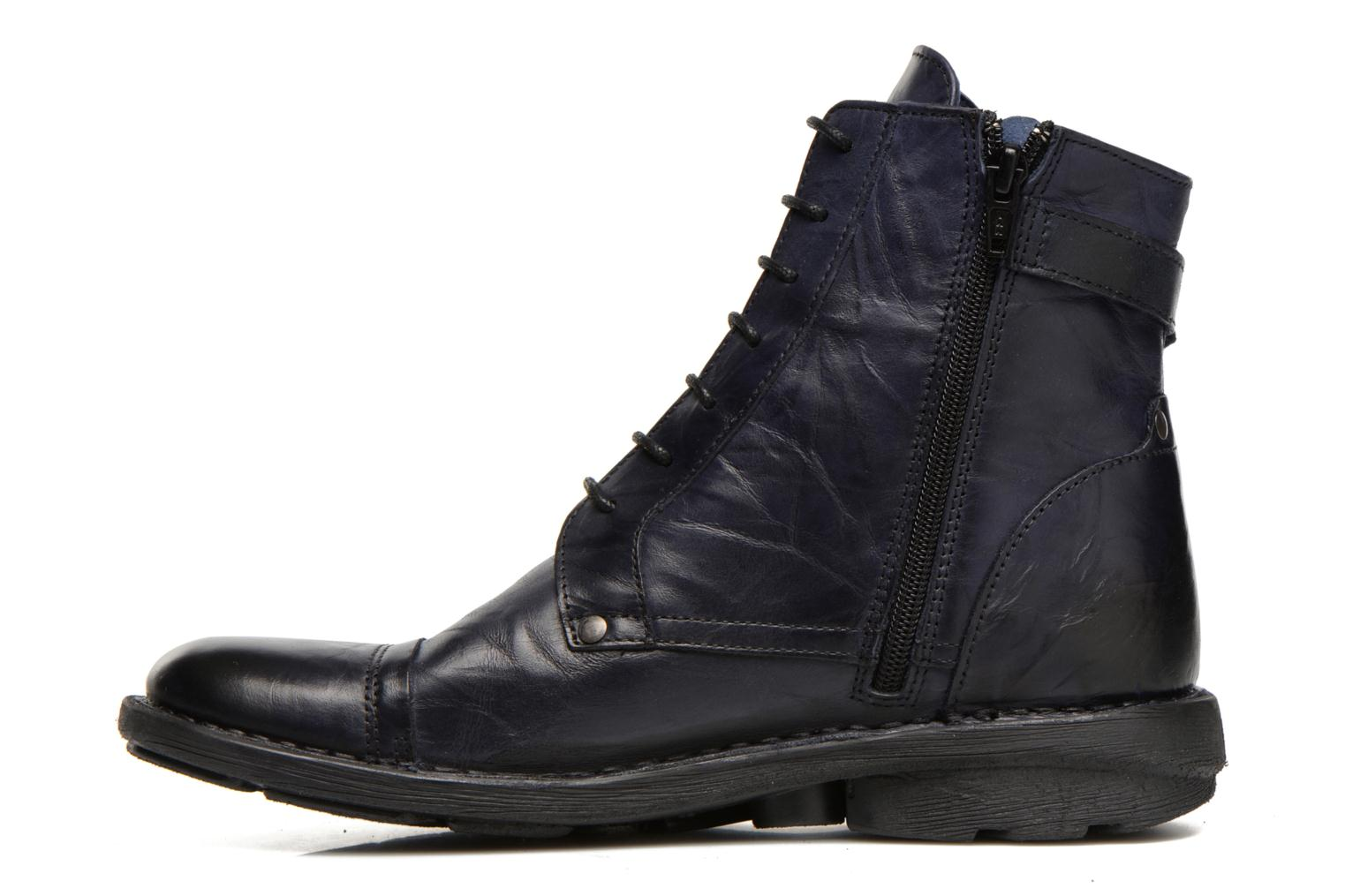 Bottines et boots Dorking Medina 6402 Bleu vue face