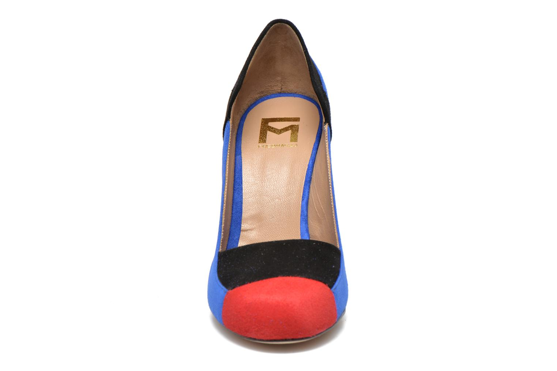 Escarpins Fred Marzo Charlotte Multicolore vue portées chaussures