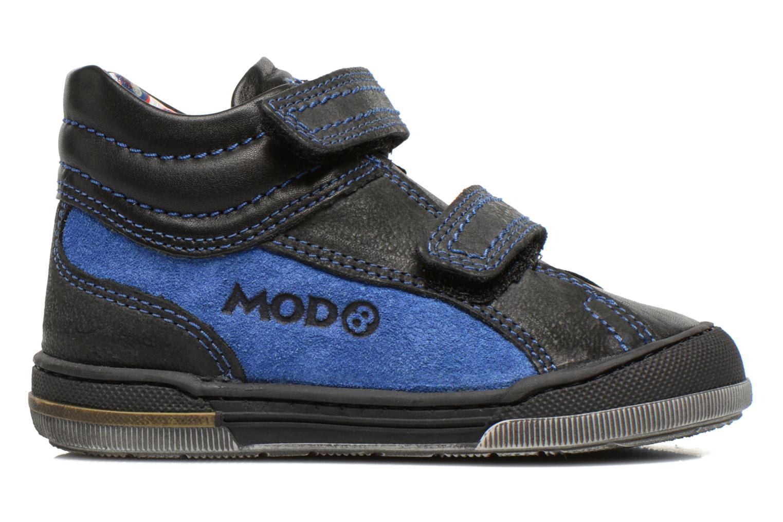 Chaussures à scratch Mod8 ZEPHIR Noir vue derrière
