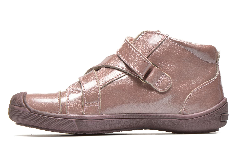 Chaussures à scratch GBB Lucine Rose vue face