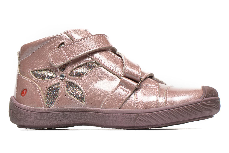Chaussures à scratch GBB Lucine Rose vue derrière