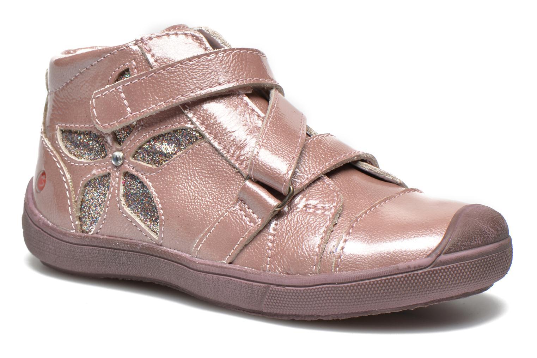 Chaussures à scratch GBB Lucine Rose vue détail/paire