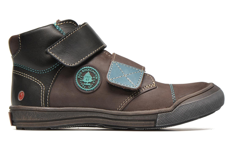 Chaussures à scratch GBB Lorencio Gris vue derrière
