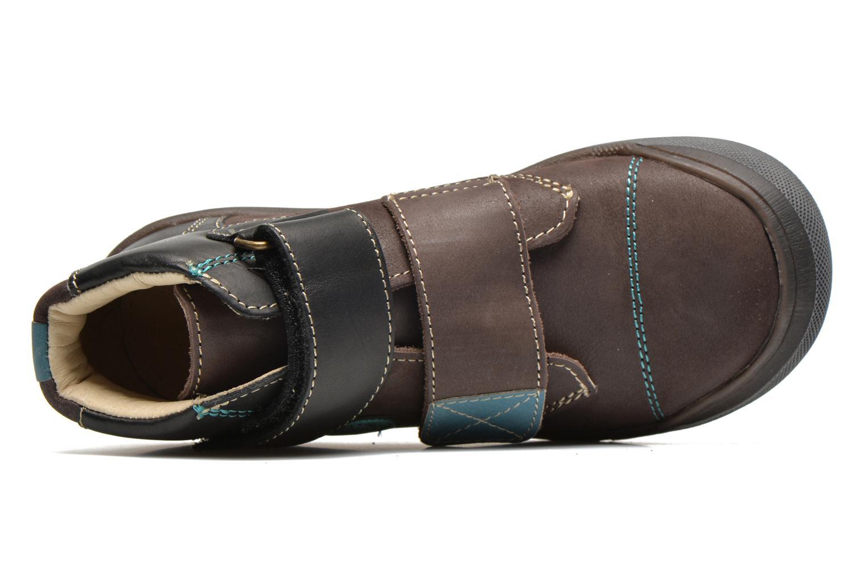 Chaussures à scratch GBB Lorencio Gris vue gauche
