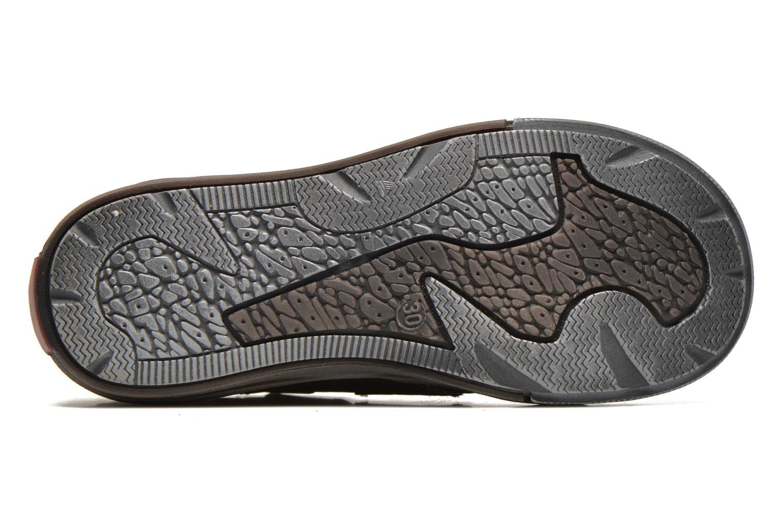 Chaussures à scratch GBB Lorencio Gris vue haut