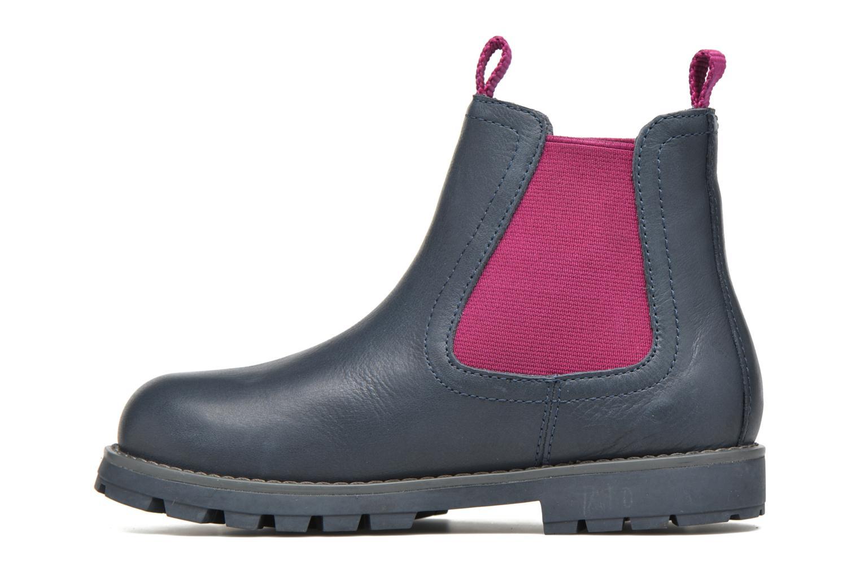 Bottines et boots Camper Compas Bleu vue face