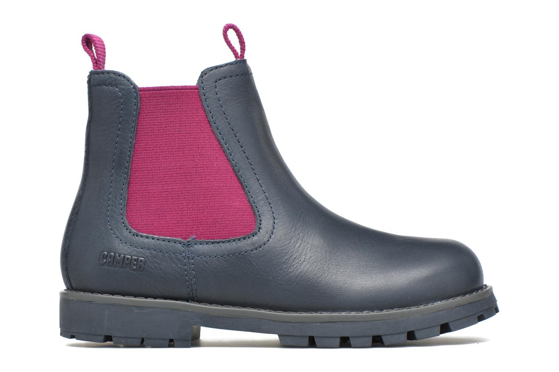 Bottines et boots Camper Compas Bleu vue derrière