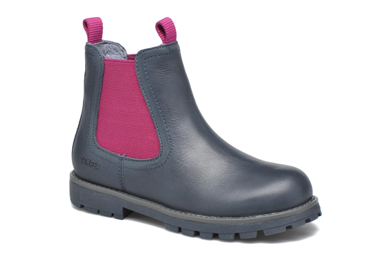 Bottines et boots Camper Compas Bleu vue détail/paire