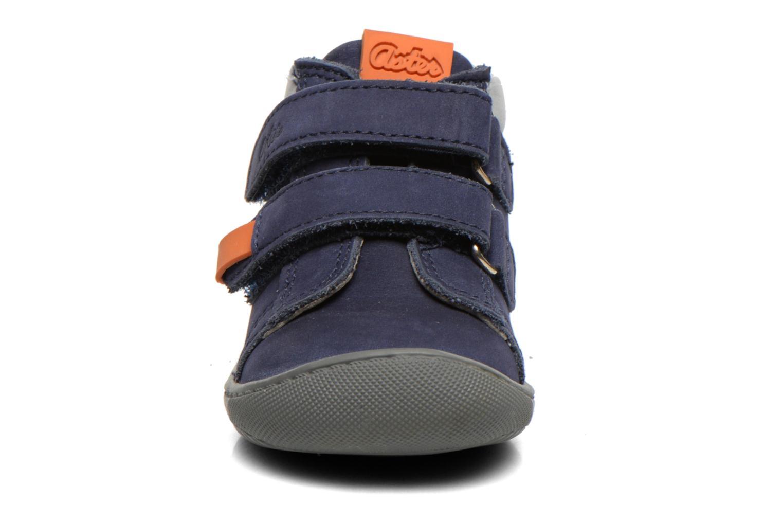 Chaussures à scratch Aster PIELL Bleu vue portées chaussures