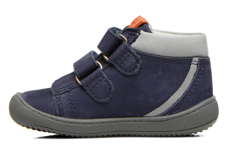Chaussures à scratch Aster PIELL Bleu vue face