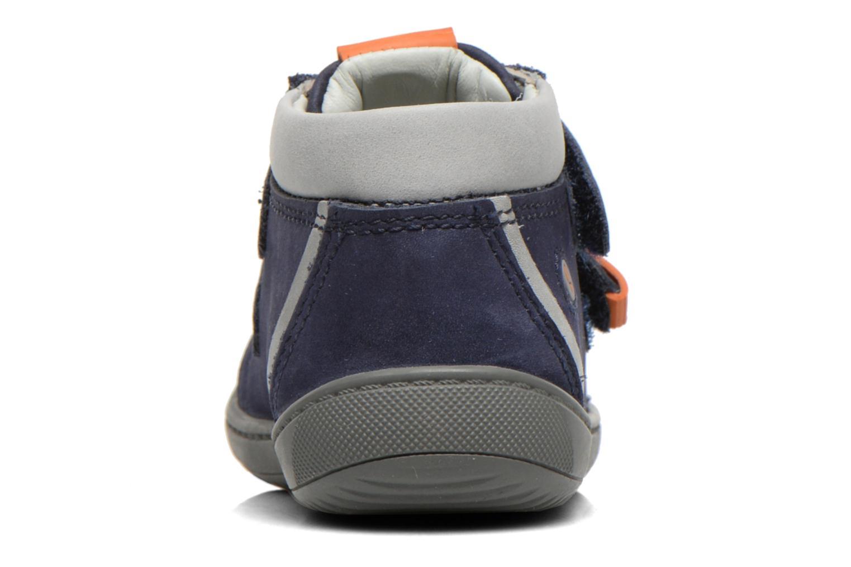 Chaussures à scratch Aster PIELL Bleu vue droite