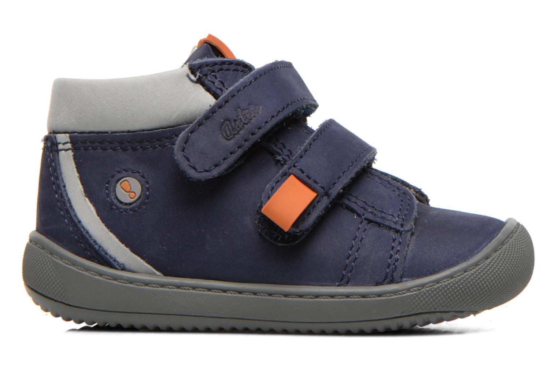 Chaussures à scratch Aster PIELL Bleu vue derrière