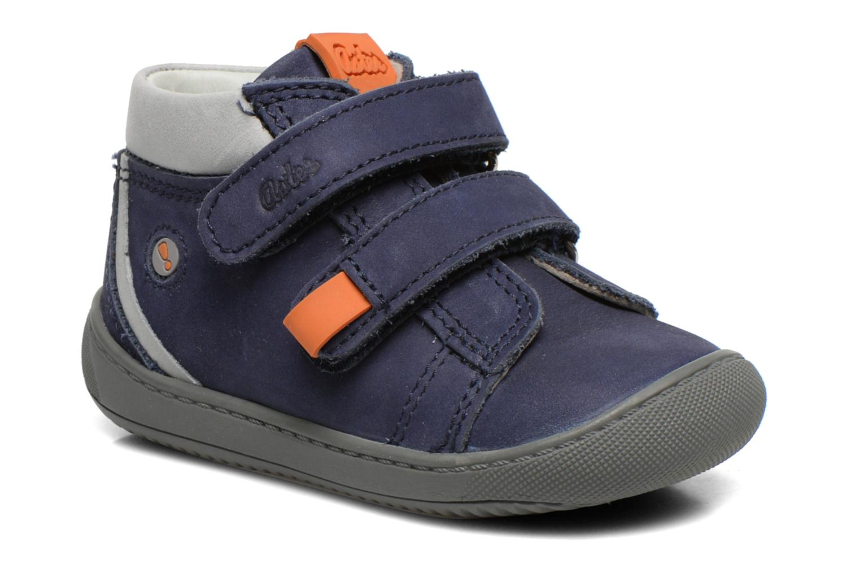Chaussures à scratch Aster PIELL Bleu vue détail/paire