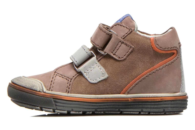 Chaussures à scratch Aster DRUPSTER Beige vue face
