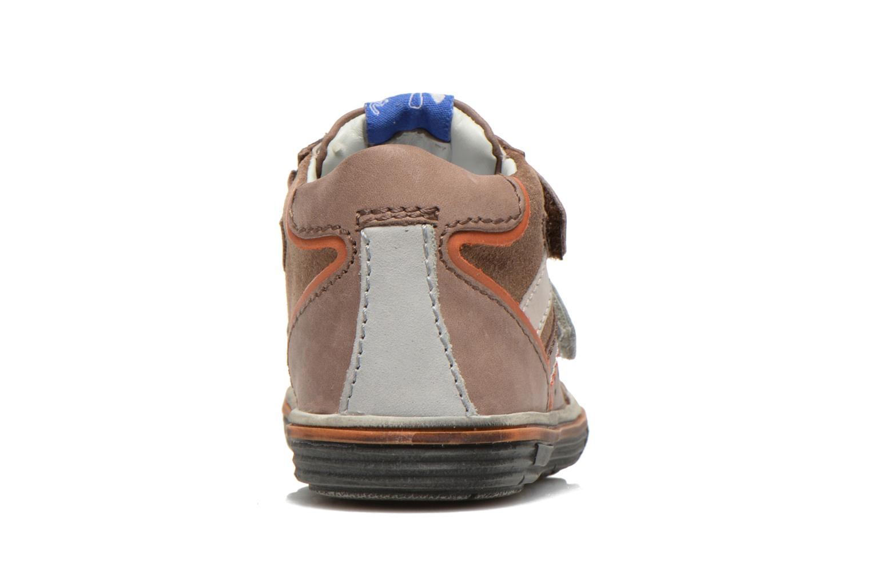 Chaussures à scratch Aster DRUPSTER Beige vue droite