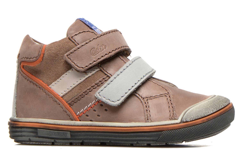 Chaussures à scratch Aster DRUPSTER Beige vue derrière