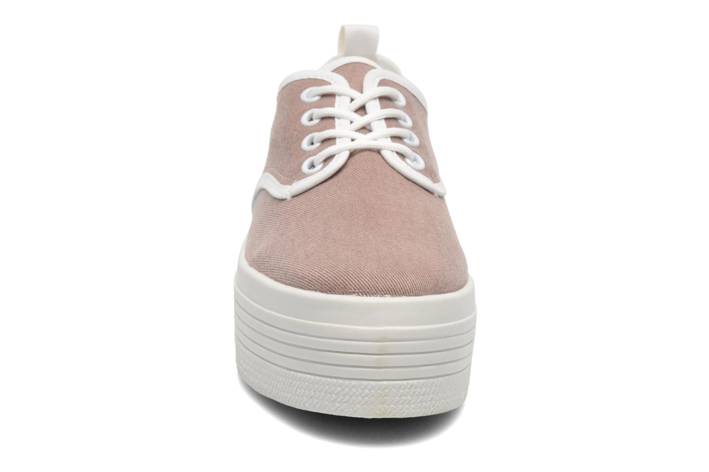 Baskets Ippon Vintage Yuka Casual Marron vue portées chaussures